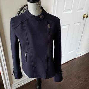 NWT dark navy blue soft jacket